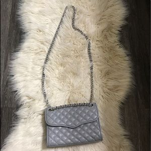 Grey Rebecca Minkoff mini quilted affair